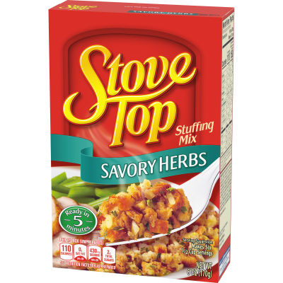 Kraft Stove Top Savory Herbs Stuffing Mix 6 oz Box