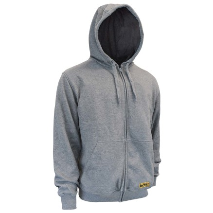 DEWALT® Unisex Heated French Terry Cotton Hoodie Bare