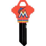 MLB Miami Marlins Key Blank