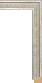 Cezanne Watergild Silver 1 1/2