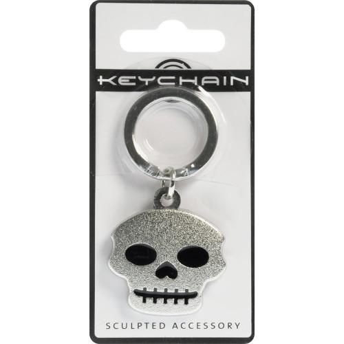 Silver Skull 3D Key Chain