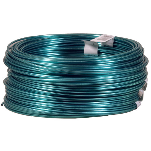 Hillman Blue Plastic Coated 4 Strand/#19 Guy Wire 50ft Connected Coils