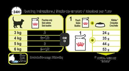 Sensory Smell (in gravy) feeding guide