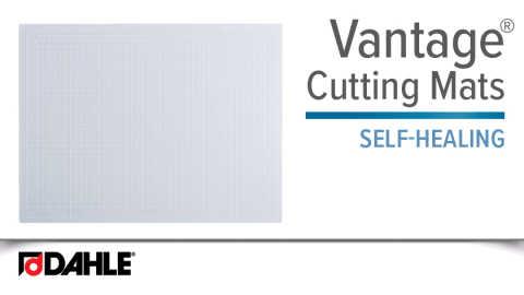 Dahle Vantage® Self-Healing Cutting Mat-Clear Video