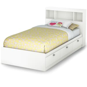 Spark - Storage Bed and Bookcase Headboard Set