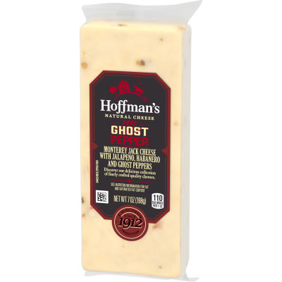 Hoffman's Natural Ghost Pepper Monterey Jack Cheese 7 oz Wrapper