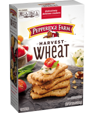 (10 1/4 ounces) Pepperidge Farm® Harvest Wheat Distinctive Crackers