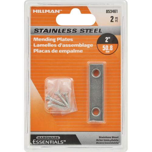Hardware Essentials Mending Plate Stainless Steel 2