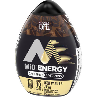 MiO Energy Iced Vanilla Java Iced Coffee Concentrate 1.62 fl oz Bottle