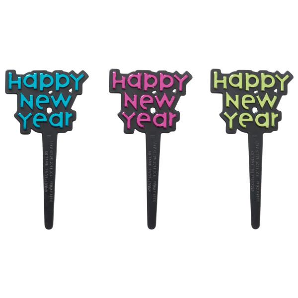 Happy New Year Foil DecoPics®