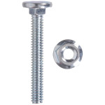 Zinc Plated Carriage Bolts and Nuts
