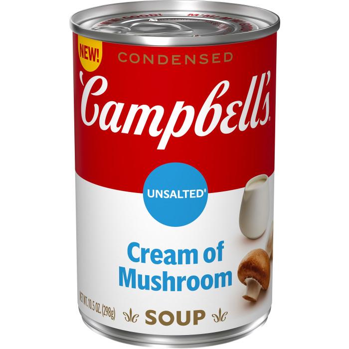 Unsalted Cream of Mushroom Soup