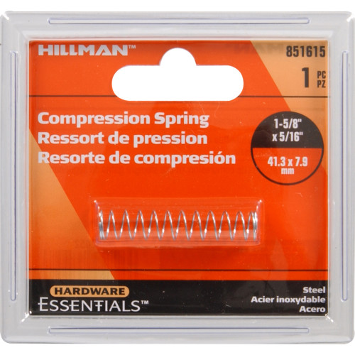 Hillman Compression Spring 1-5/8 x 5/16 in.