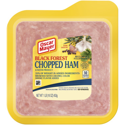 Oscar Mayer Black Forest Chopped Ham 16 oz