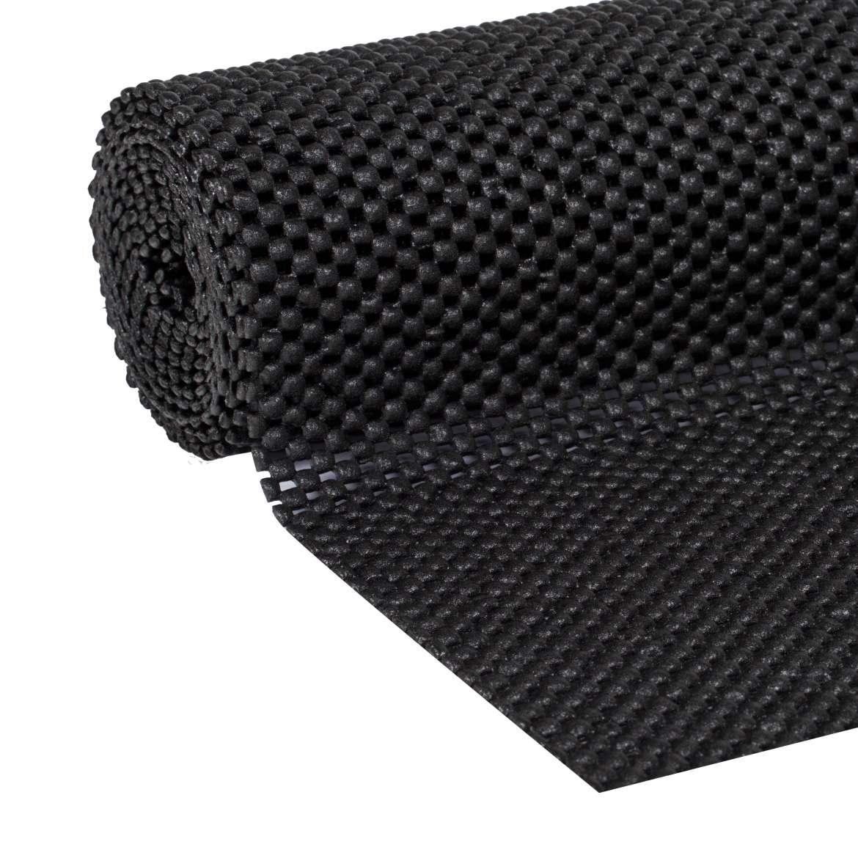 Supreme Grip Easy Liner Shelf Liner Black 8 Ft Duck Brand