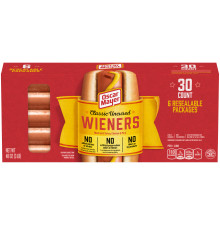 Oscar Mayer Classic Wieners Hot Dogs 48 oz Box