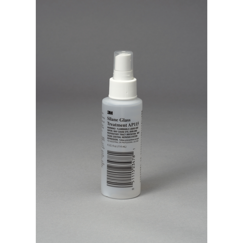 3M™ Silane Glass Treatment AP115, Clear, 4 oz Bottle, 20 per case