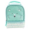 Soft Lines 2-compartment Reusable Insulated Lunch Bag, Teddy Bears slideshow image 2