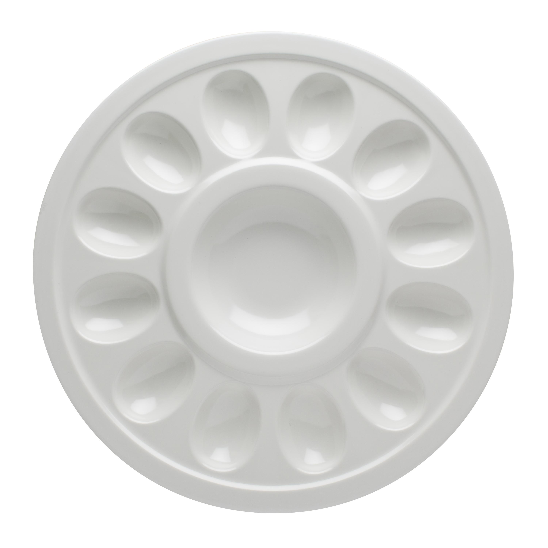 Zak! Style Deviled Egg Tray, White