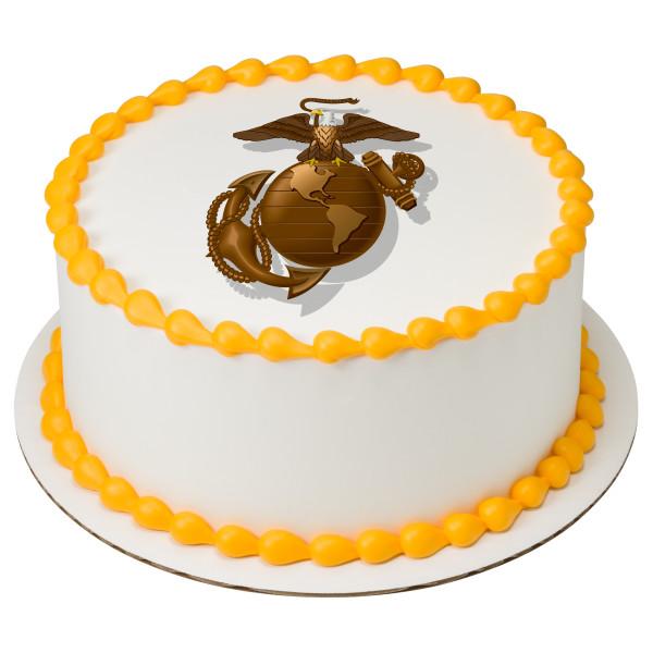 United States Marine Corps PhotoCake® Edible Image®