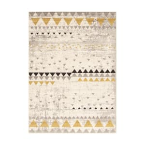Step One - Ethnic Triangles Area Rug