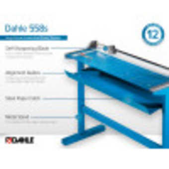 Dahle 558s Professional Rotary Trimmer InfoGraphic