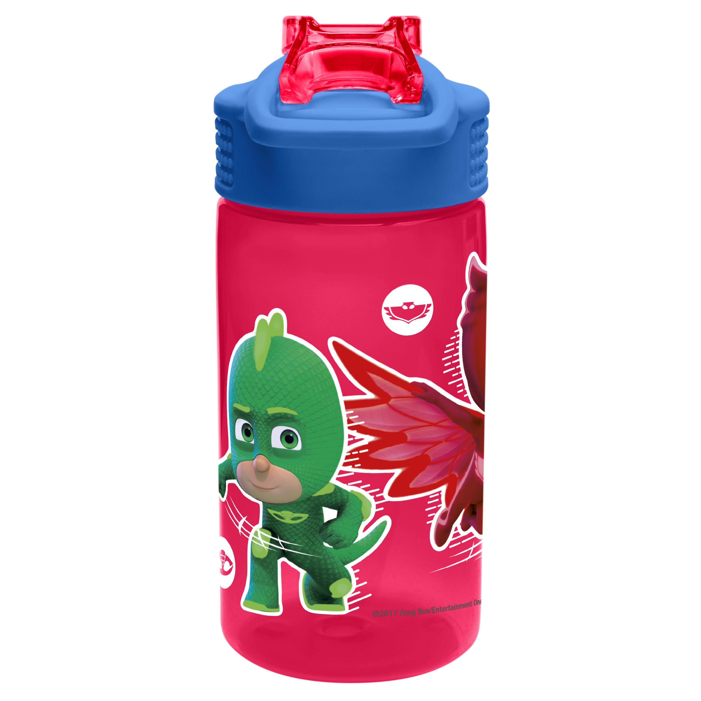 PJ Masks 16 ounce Water Bottle, Gekko, Owlette & Catboy