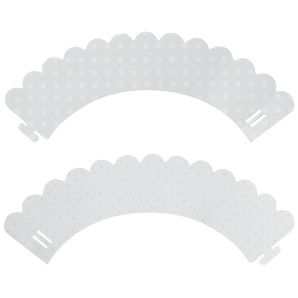 White Polka Dot & Pattern Reversible Treat Wraps®