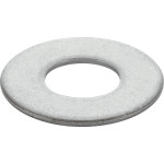 Marine-Grade #316 Stainless Flat Washer (#8)