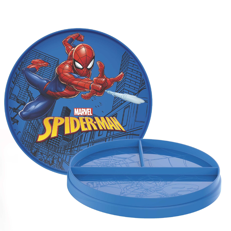 Marvel Comics Kids Dinnerware, Spider-Man, 2-piece set slideshow image 1