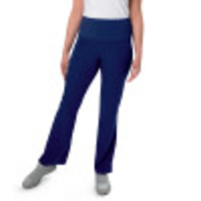 Urbane Ultimate PWRcor Compression Scrub Pants for Women: 4 Pocket, Slimming Anti-roll Waist, Soft Stretch, Straight Leg Medical Scrubs 9337-