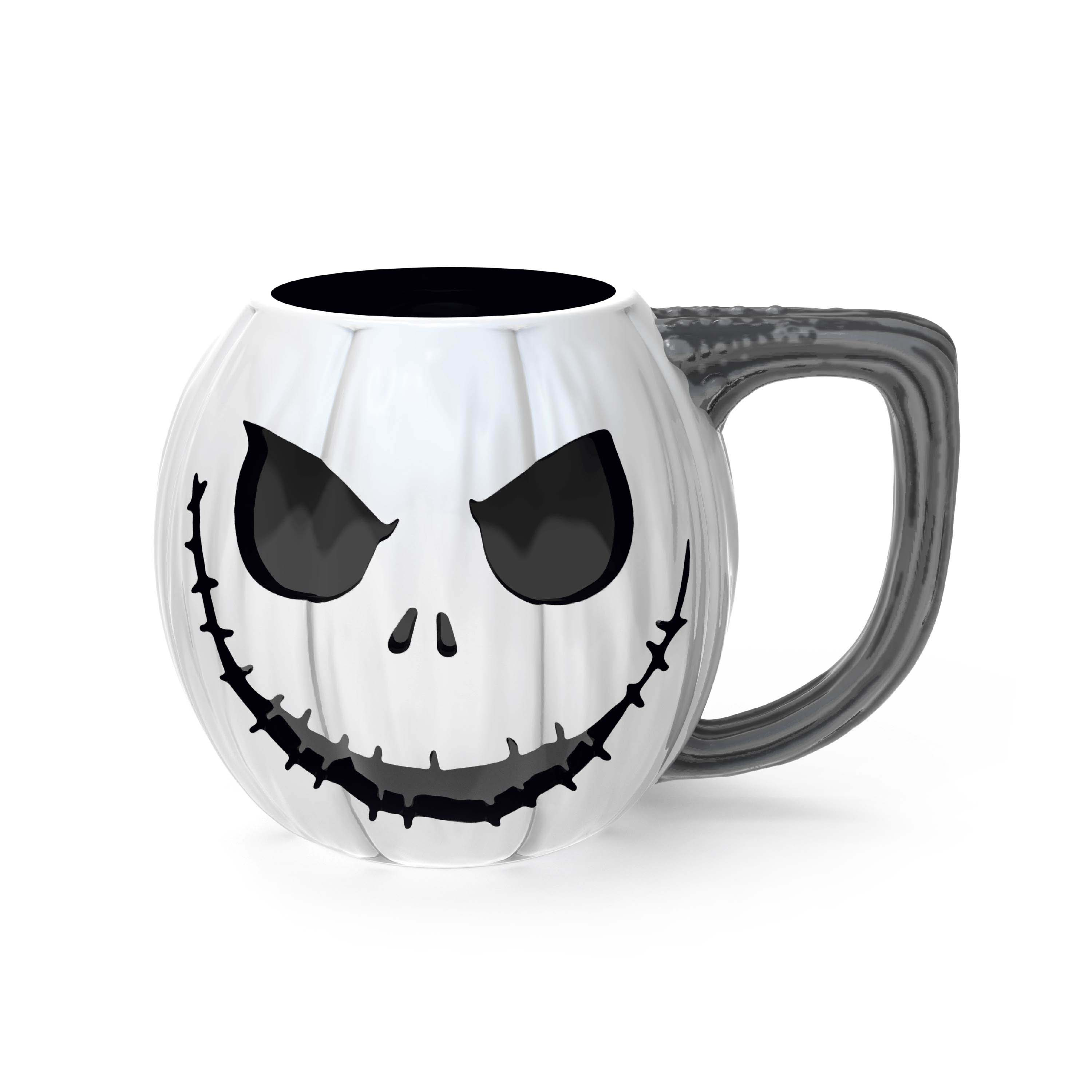 Disney The Nightmare Before Christmas 15 ounce Mug and Spoon, Jack Skellington