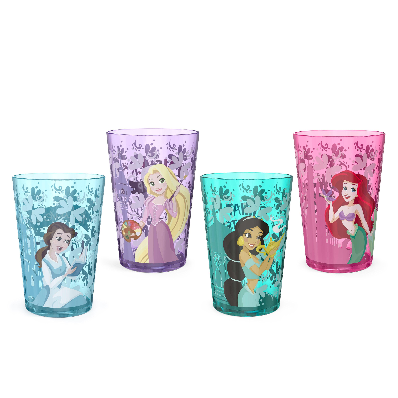Disney Princess Tumbler, Princess Ariel and Friends, 4-piece set slideshow image 1