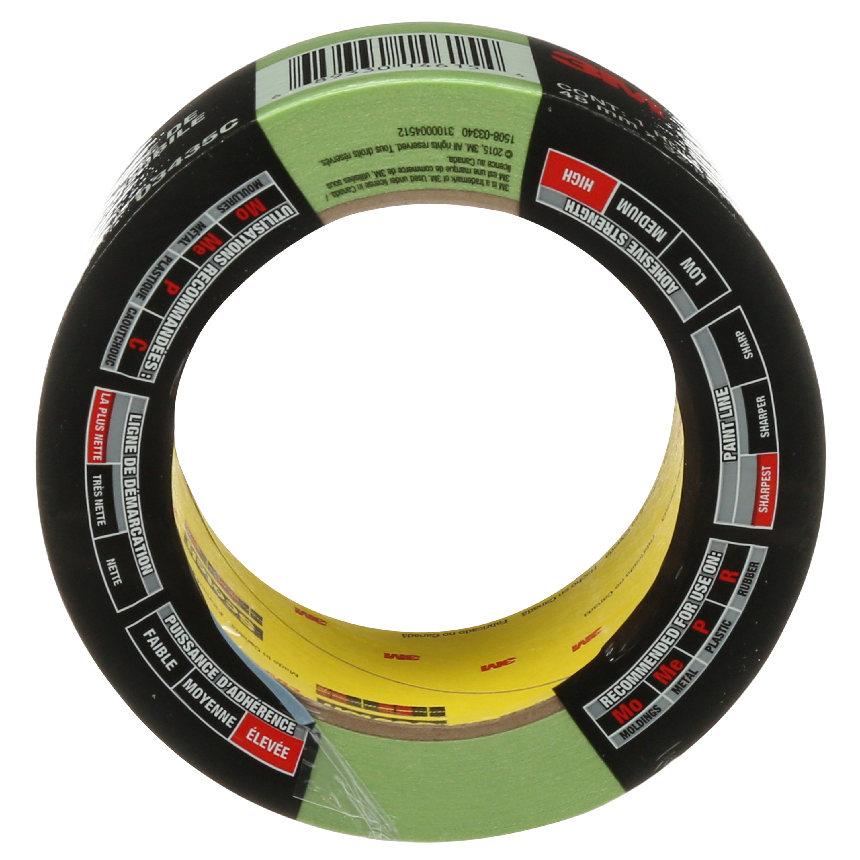 3M™ Automotive Performance Masking Tape, 03435, 48 mm x 32 m, 12 per case