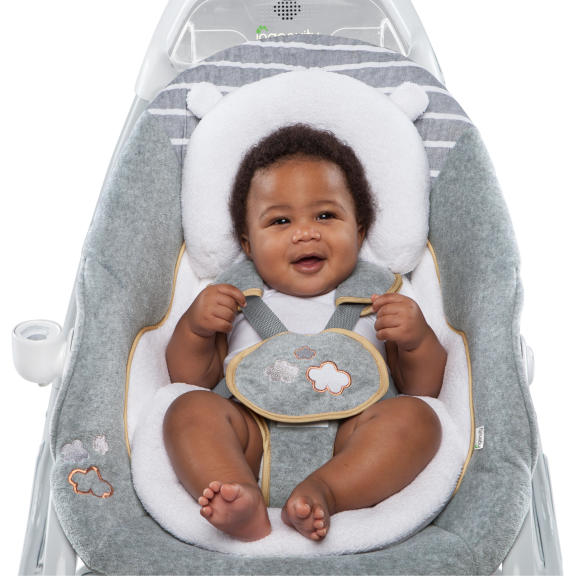 Boutique Collection™ SmartSize Gliding Swing & Rocker™ - Bella Teddy™