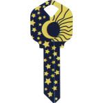 WacKey Sun and Moon Key Blank