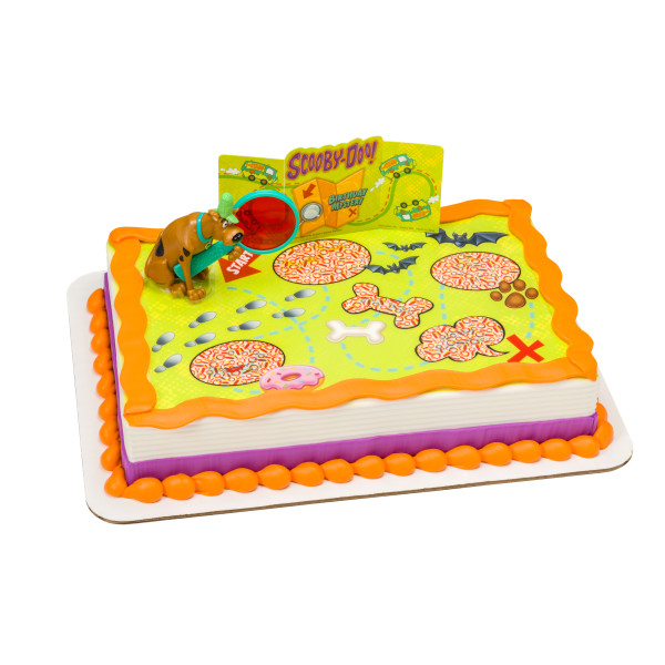 Scooby-Doo!™ Mystery Revealed PhotoCake® Edible Image® DecoSet® Background