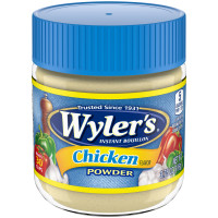 Wyler's Chicken Flavor Instant Bouillon Powder 3.75 oz Jar image