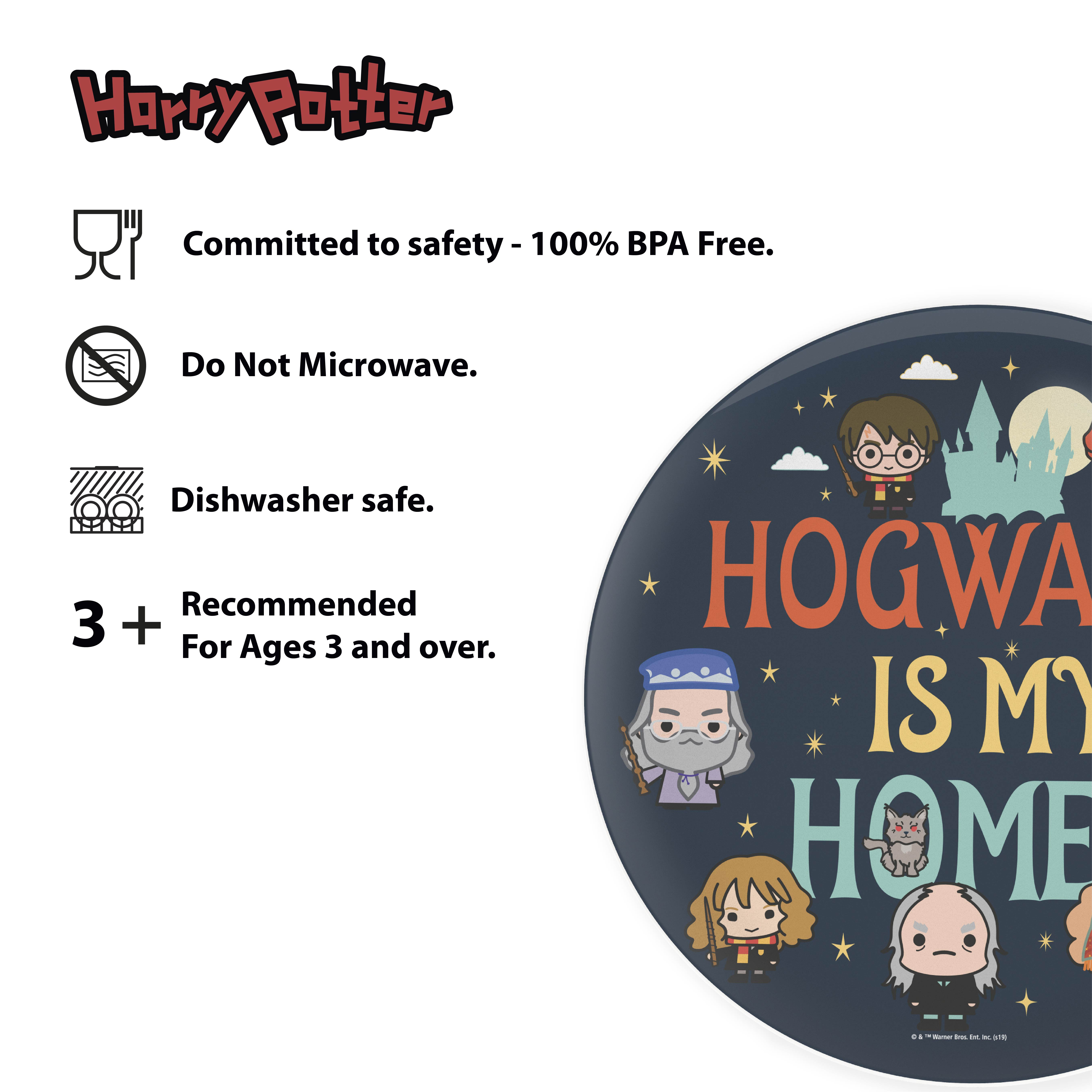 Harry Potter Dinnerware Set, Hogwarts is my Home, 2-piece set slideshow image 2
