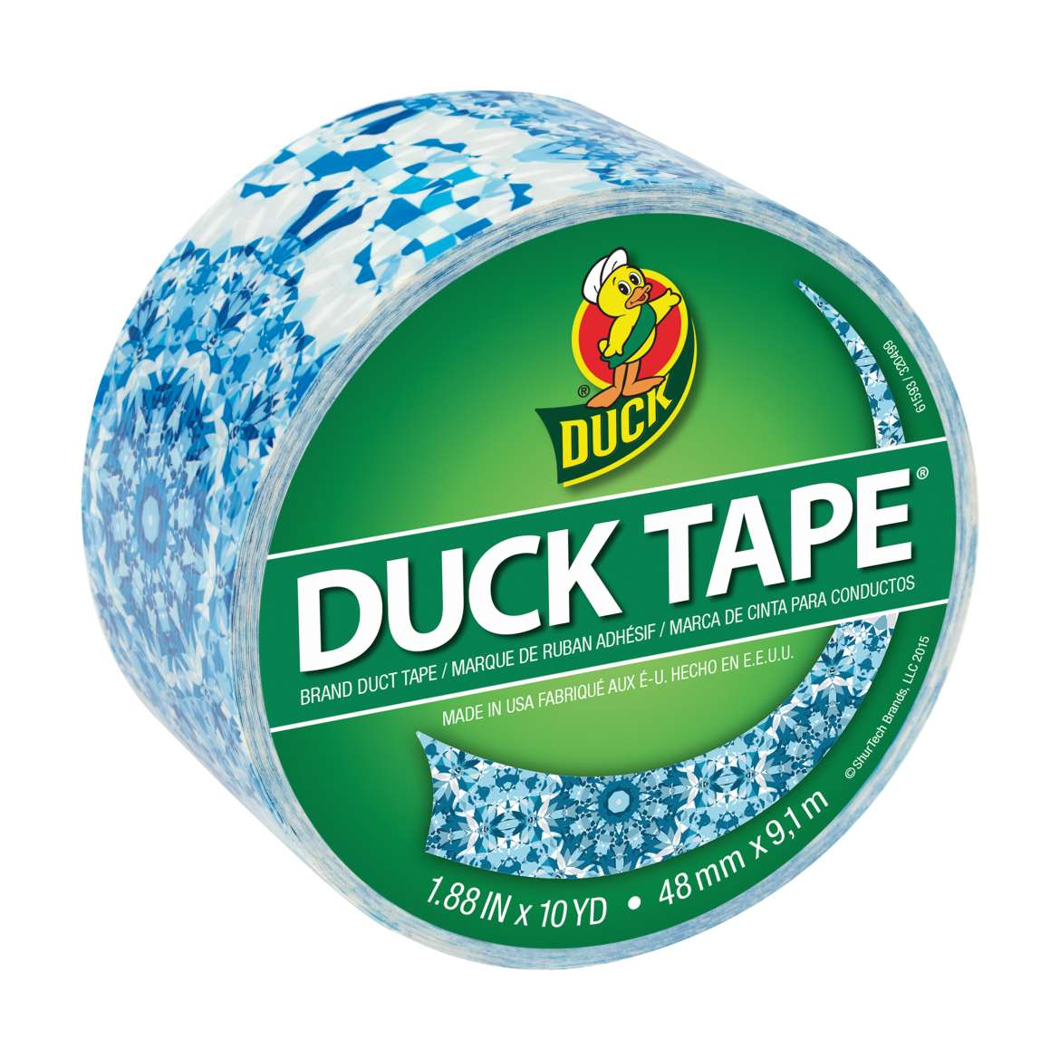 Printed Duck Tape® Brand Duct Tape - Kaleidoscope, 1.88 in. x 10 yd. Image