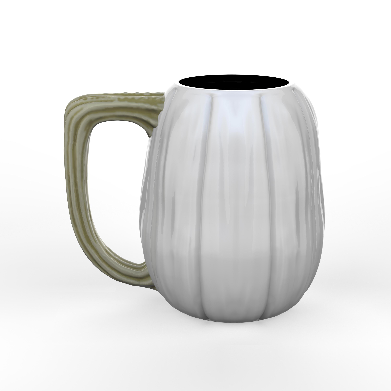 Halloween 15 ounce Coffee Mug and Spoon, Ghost Pumpkin slideshow image 2