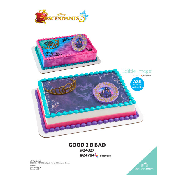 Descendants 3 Good 2 B Bad DecoSet® The Magic of Cakes® Page