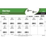 Club Key Assortment