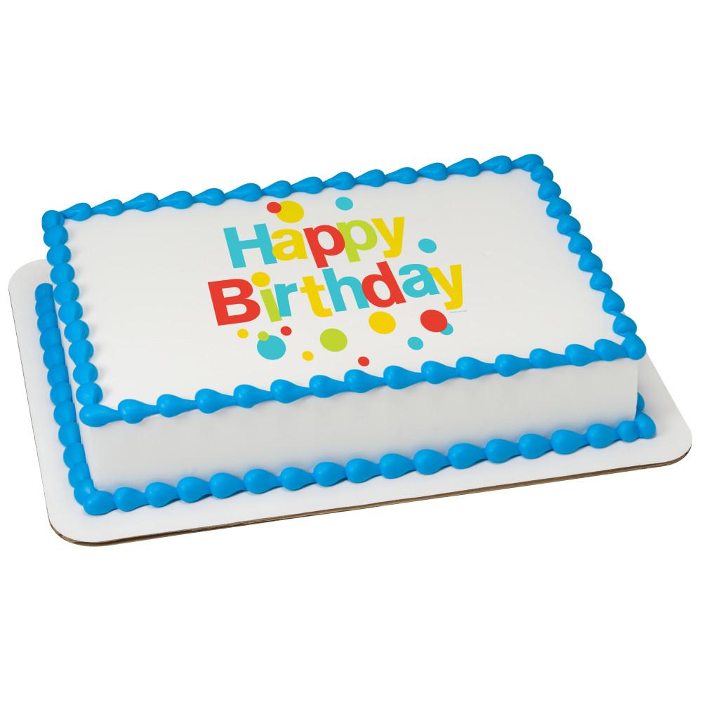 Very Happy Birthday Dots