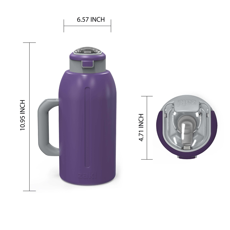 Genesis 64 ounce Stainless Steel Water Bottles, Viola slideshow image 8