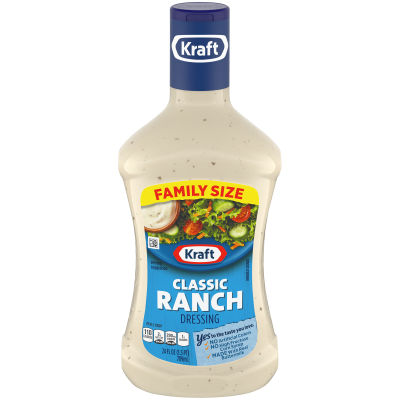 Kraft Classic Ranch Dressing, 24 fl oz Bottle