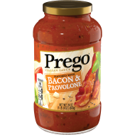 Flavored With Bacon & Provolone Italian Sauce