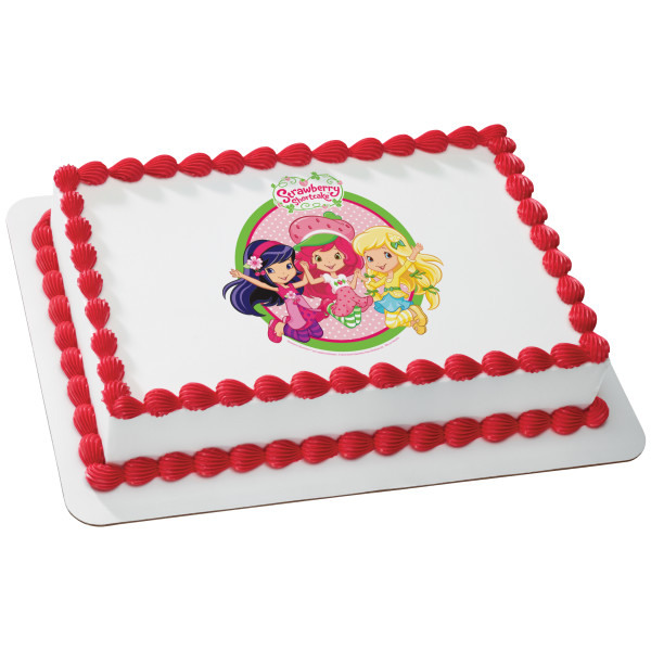 Strawberry Shortcake™ Jump for Joy! PhotoCake® Edible Image®