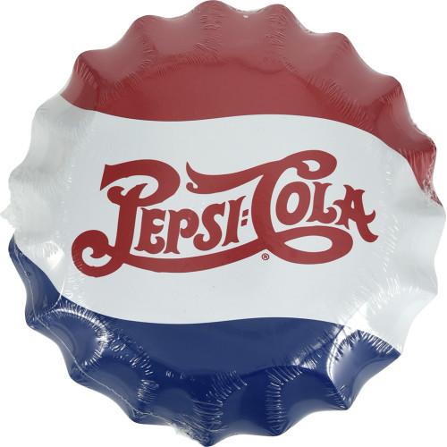 Aluminum Pepsi-Cola Bottle Cap 12in