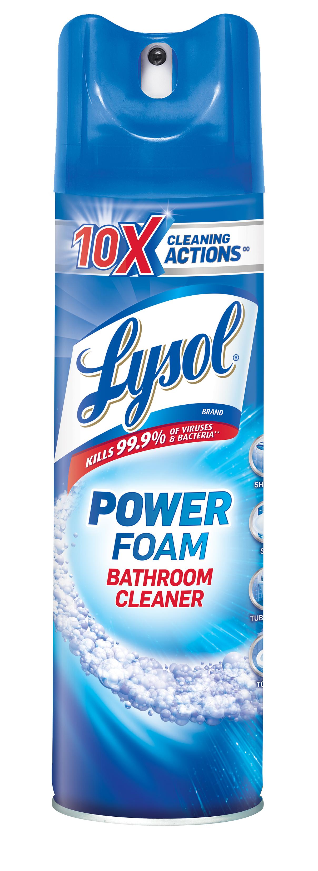 LYSOL® Power Foam Bathroom Cleaner